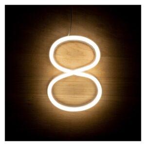 Letreiro 8 Fluorescente LED Ledkia A+ 3 W