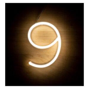 Letreiro 9 Fluorescente LED Ledkia A+ 3 W