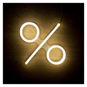 Letreiro % Fluorescente LED Ledkia A+ 3 W