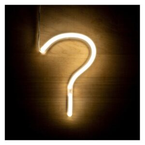 Letreiro ? Fluorescente LED Ledkia A+ 3 W