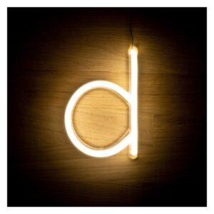 Letra D LED Fluorescente Ledkia 3 W