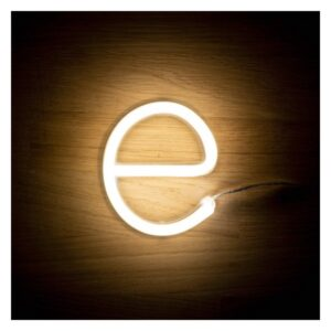 Letra E LED Fluorescente Ledkia 3 W
