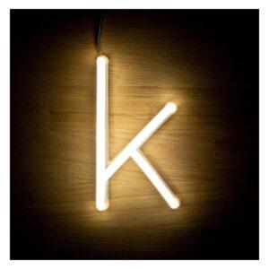 Letra K LED Fluorescente Ledkia 3 W