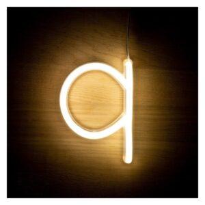 Letra Q LED Fluorescente Ledkia 3 W