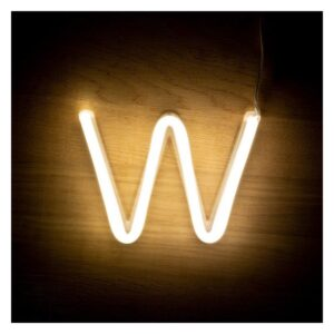 Letra W LED Fluorescente Ledkia 3 W