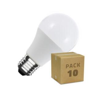 10 Lâmpadas LED Ledkia 12 W 1129 Lm (Branco Quente 2800K - 3200K)