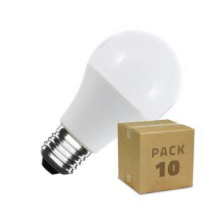 10 Lâmpadas LED Ledkia 12 W 1129 Lm (Branco Frio 6000K - 6500K)
