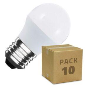 10 Lâmpadas LED Ledkia 5 W 400 Lm (Branco Quente 2800K - 3200K)