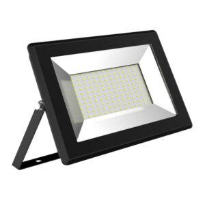 10 Holofotes LED Ledkia Solid 100W 10000 Lm (Branco quente 3000K)