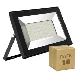 10 Holofotes LED Ledkia Solid A+ 50W 5000 Lm (Branco frio 6000K)