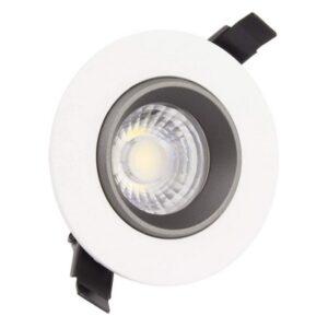 Foco Downlight LED Ledkia A+ 7 W 560 Lm (Branco quente 3000K)