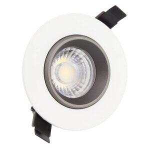 Foco Downlight LED Ledkia A+ 18 W 1500 Lm (Branco quente 3000K)