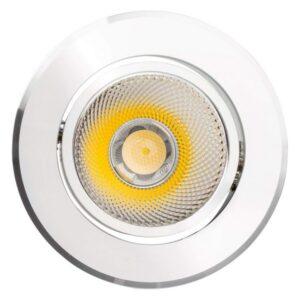Foco Downlight LED Ledkia A+ 12 W 960 Lm (Branco quente 3000K)