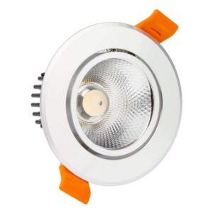 Foco Downlight LED Ledkia A+ 12 W 960 Lm (Branco frio 6000K)