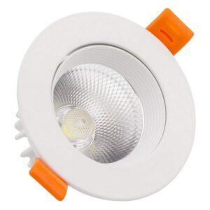 Foco Downlight LED Ledkia A+ 15 W 1200 Lm (Branco quente 3000K)