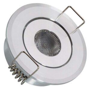 Foco Downlight LED Ledkia A+ 1 W 80 Lm (Branco frio 6000K)