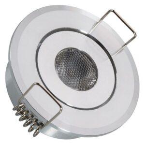 Foco Downlight LED Ledkia A+ 1 W 80 Lm (Branco quente 3000K)