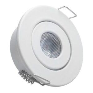 Foco Downlight LED Ledkia 1 W 80 Lm (Branco quente 3000K)