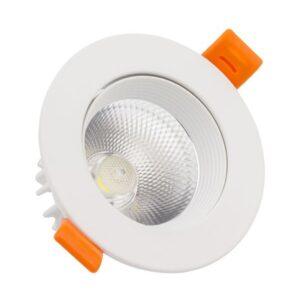 Foco Downlight LED Ledkia A+ 9 W 720 Lm (Branco frio 6000K)