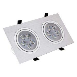 Foco Downlight LED Ledkia A+ 10 W 900 Lm (Branco Quente 2800K - 3200K)