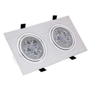 Foco Downlight LED Ledkia A+ 10 W 900 Lm (Branco frio 6000K - 6500K)