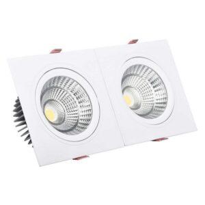 Foco Downlight LED Ledkia A+ 20 W 1800 Lm (Branco Quente 3000K - 3200K)