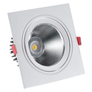Foco Downlight LED Ledkia A+ 15 W 1350 Lm (Branco Quente 3000K - 3500K)