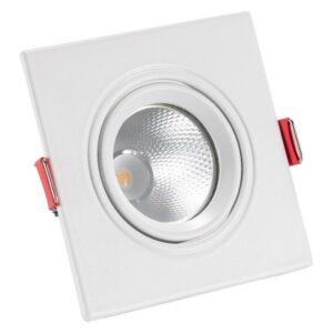 Foco Downlight LED Ledkia A+ 5 W 450 lm (Branco Quente 3000K - 3500K)