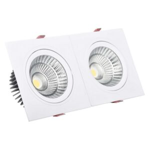 Foco Downlight LED Ledkia A+ 10 W 900 Lm (Branco Quente 3000K - 3200K)