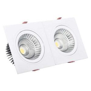 Foco Downlight LED Ledkia A+ 30 W 2700 lm (Branco Quente 3000K - 3200K)
