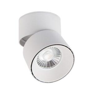 Luz de Teto LED Ledkia Onuba A+ 15 W Branco Neutro 4000K - 4500K 1200 Lm (110 x Ø 90 mm)