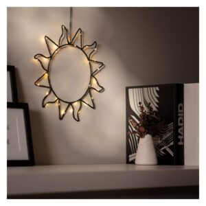Grinalda de Luz LED Ledkia Solet Sem fios