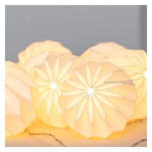 Grinalda de Luz LED Ledkia Niels 1,65 m Sem fios (Branco Quente 2700K - 3000K)