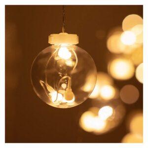 Garland de Bolas LED Ledkia 2,5 m 3,6 W 480 Lm (Branco Quente 2700K - 3200K)