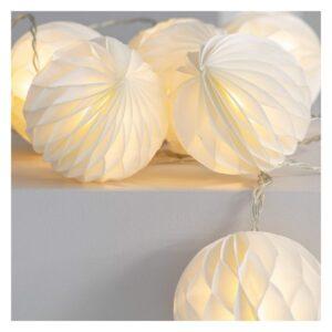 Grinalda de Luz LED Ledkia Stewpot 2,1 m Sem fios (Branco Quente 2700K - 3200K)