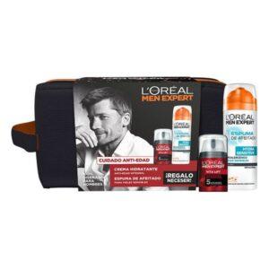 Conjunto de Cosmética Homem Men Expert Vita-Lift 5 L'Oreal Make Up (3 Peças)