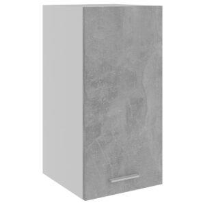 Armário de parede 29,5x31x60 cm contraplacado cinza cimento - PORTES GRÁTIS
