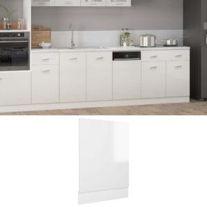 Painel máquina lavar louça 45x3x67 cm contraplacado branco - PORTES GRÁTIS