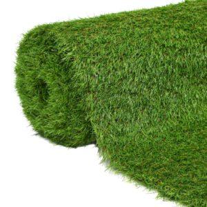 Relva artificial 1x5 m/40 mm verde - PORTES GRÁTIS