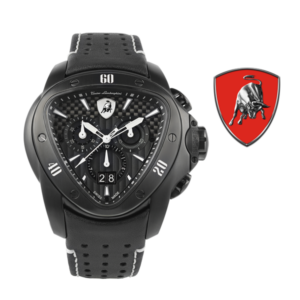 Relógio Lamborghini® Spyder Chronograph Watch Black T9SD - Swiss Made