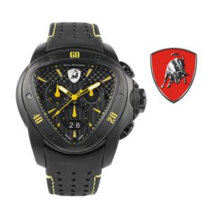 Relógio Lamborghini® Spyder Chronograph Watch Yellow T9SE - Swiss Made