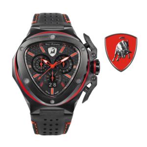 Relógio Lamborghini® Spyder X Chronograph Watch Red T9XA - Swiss Made