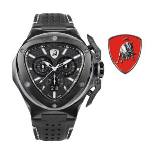 Relógio Lamborghini® Spyder X Chronograph Watch Black T9XD - Swiss Made
