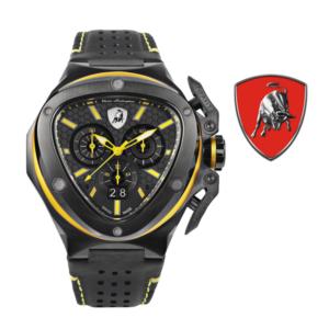Relógio Lamborghini® Spyder X Chronograph Watch Yellow T9XE - Swiss Made