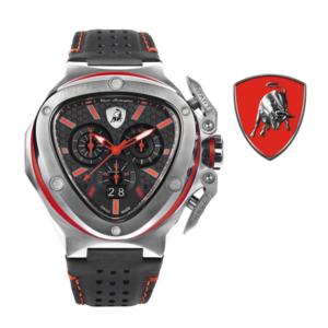 Relógio Lamborghini® Spyder X Chronograph Date Steel Red T9XA-SS - Swiss Made