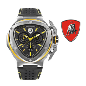 Relógio Lamborghini® Spyder X Chronograph Date Steel Yellow T9XE-SS - Swiss Made