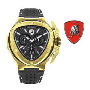 Relógio Lamborghini® Spyder X Chronograph Date Gold T9XD-YG - Swiss Made