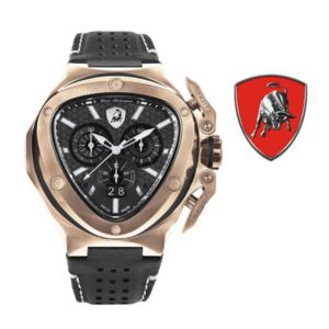 Relógio Lamborghini® Spyder X Chronograph Date Rose Gold T9XD-RG - Swiss Made