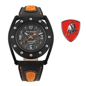 Relógio Lamborghini® Cuscinetto R Orange TLF-T02-3 - Swiss Made automático - Titânio