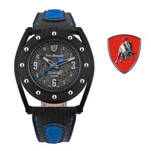 Relógio Lamborghini® Cuscinetto R Blue TLF-T02-4 - Swiss Made automático - Titânio